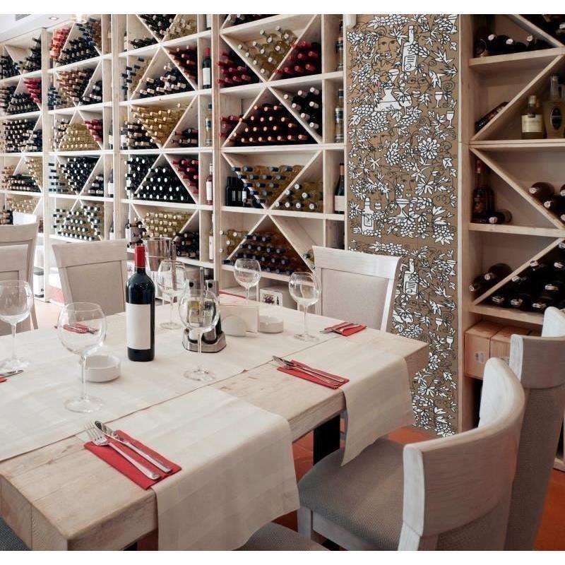Cameleonia faianta pictata decor struguri vin alb