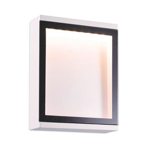 Aplica exterior CELLA LED IP54 IK05 6W 310lm 3000K alb