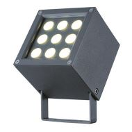 Proiector exterior BARNI LED IP65 9W 541lm 3000K antracit